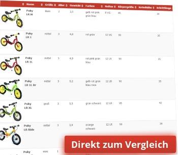 Direkt Link zum Laufrad Vergleich mit mehr als 80 Laufrädern